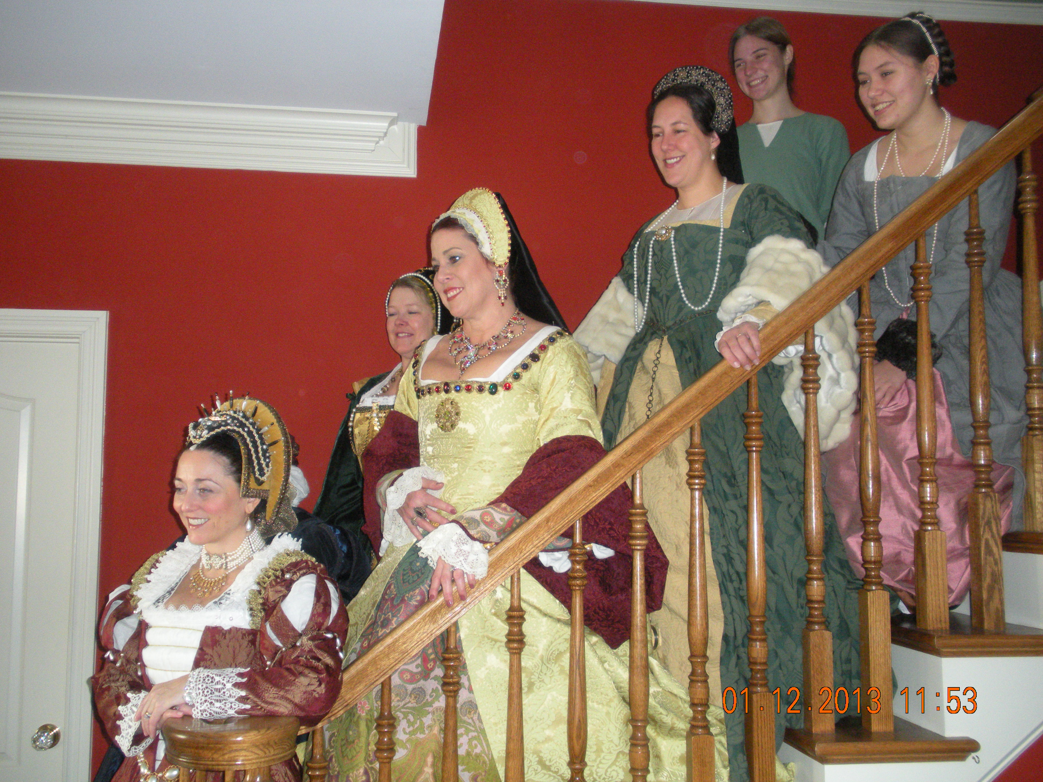Singers performing at Haynes Bed and Breakfast