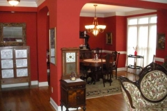 Exquisite dining room at Haynes Bed and Breakfast