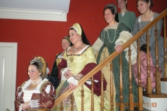 Singers performing at Haynes Bed and Breakfast