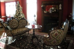 Comfortable sitting room at Haynes Bed and Breakfast