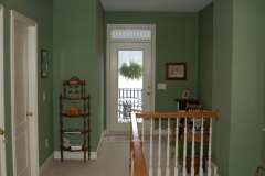 Upstairs hallway at Haynes Bed and Breakfast